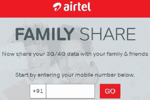 Airtel-Family-Share