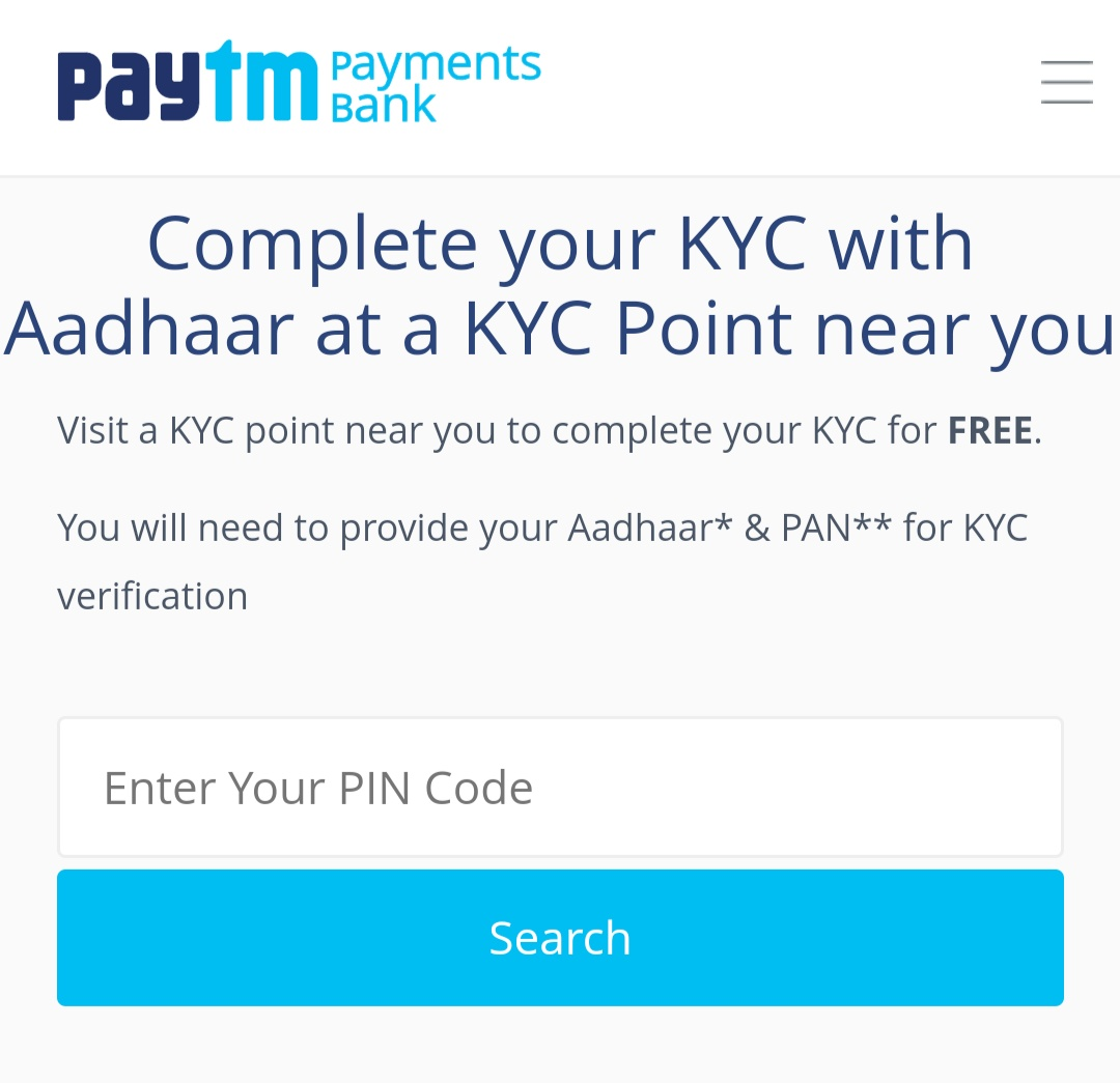 Paytm-KYC-Near-By-Me