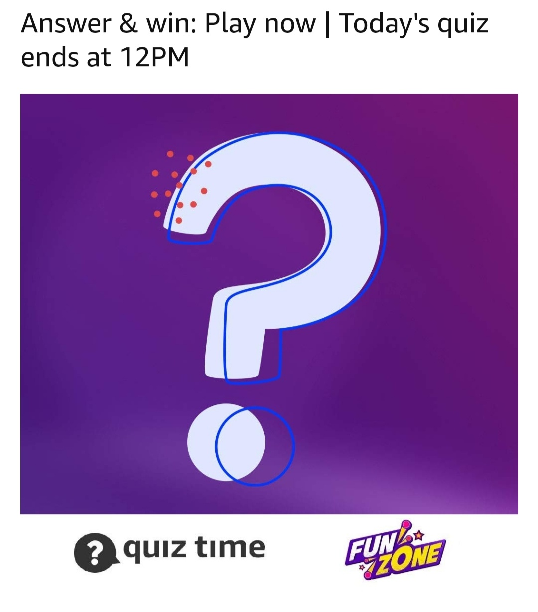 Amazon-Quiz-Answer
