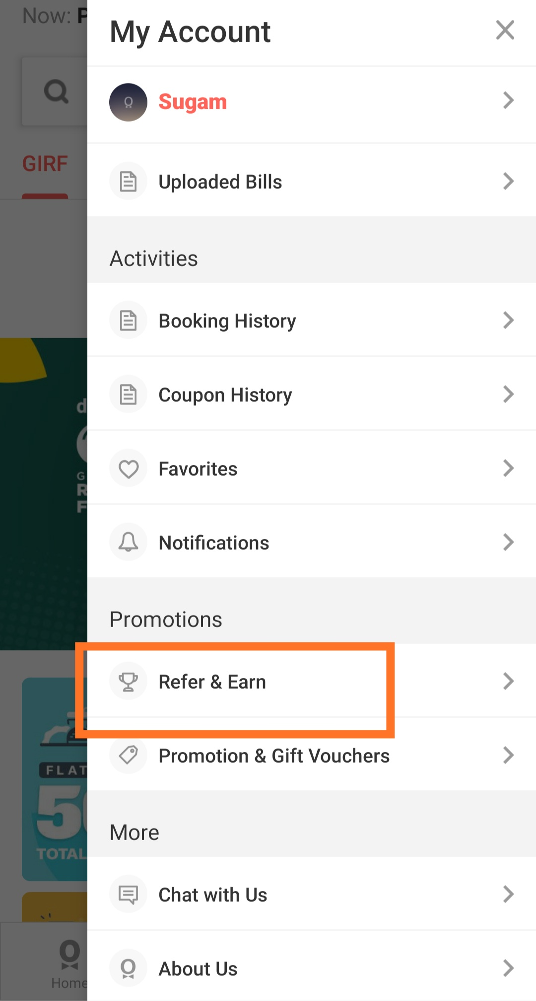Dineout-Refer-Earn