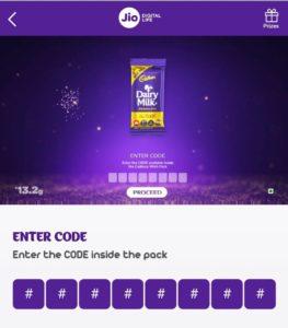 Jio-Cadbury-wishpack-8digit-code