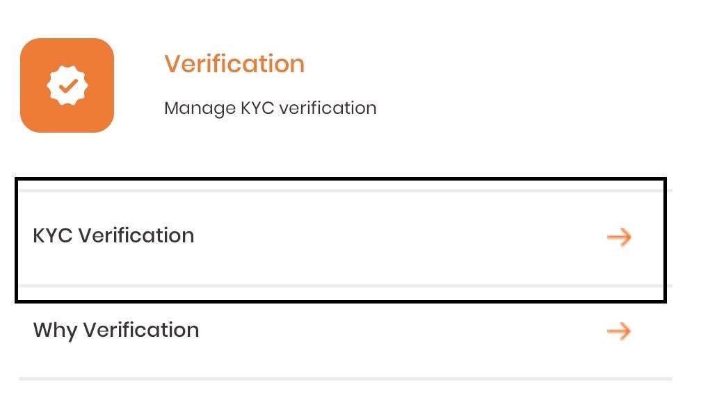 Krypto KYC Verfication