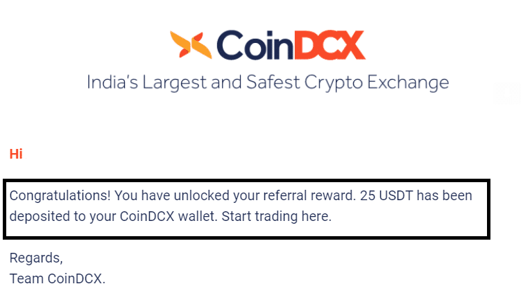 Coindcx Referral Proof