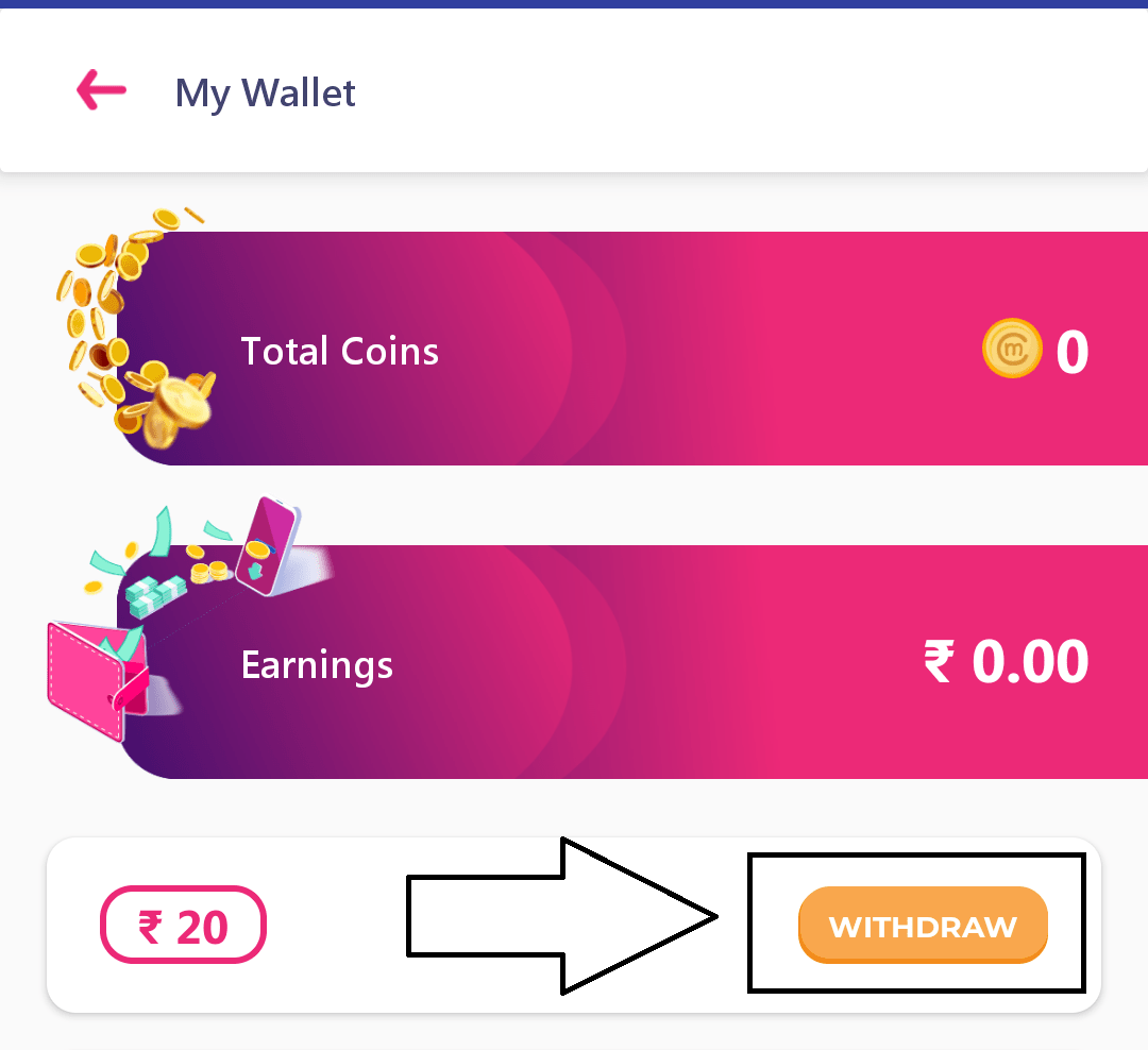 How to Withdraw Earning from mChamp