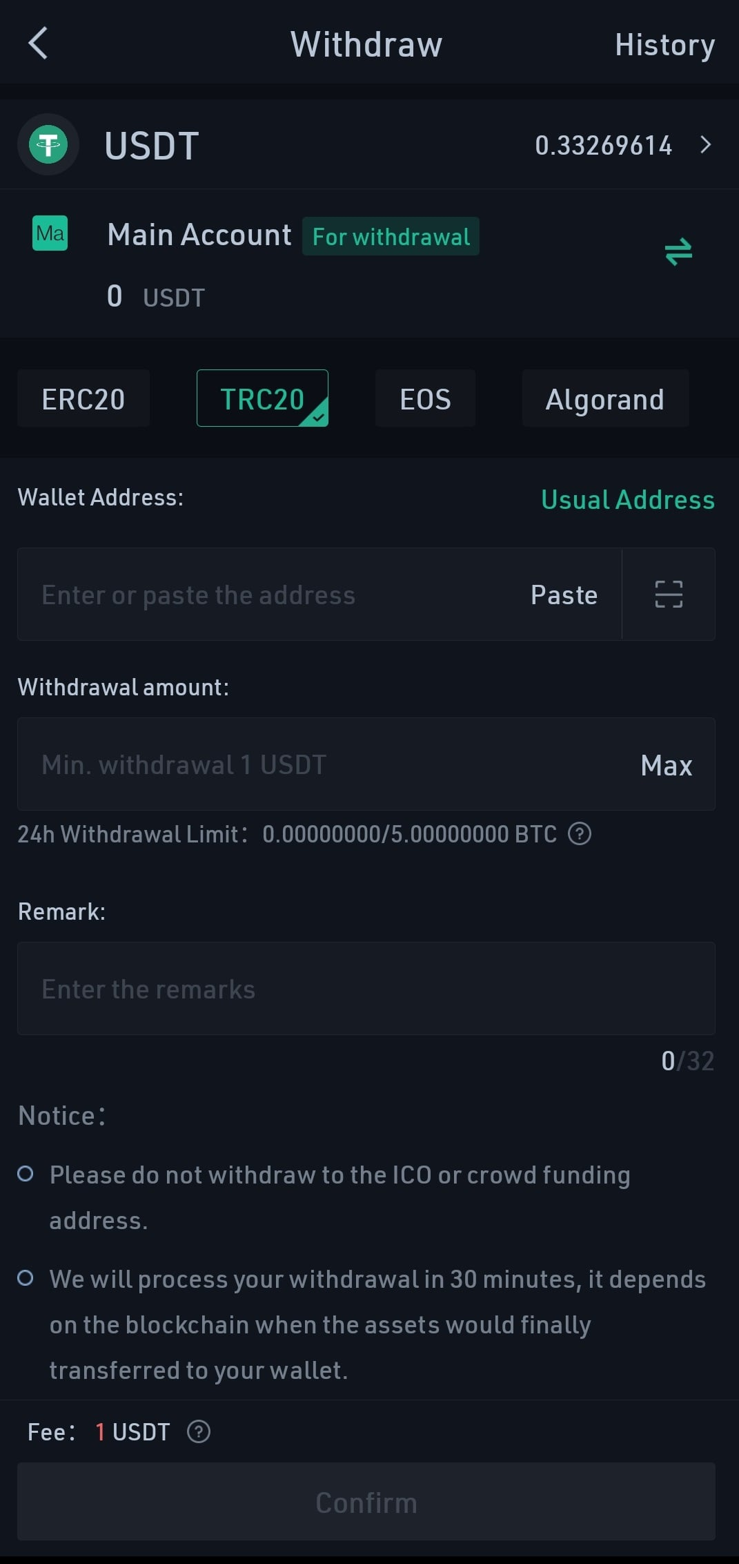 How to Withdraw Money From KuCoin