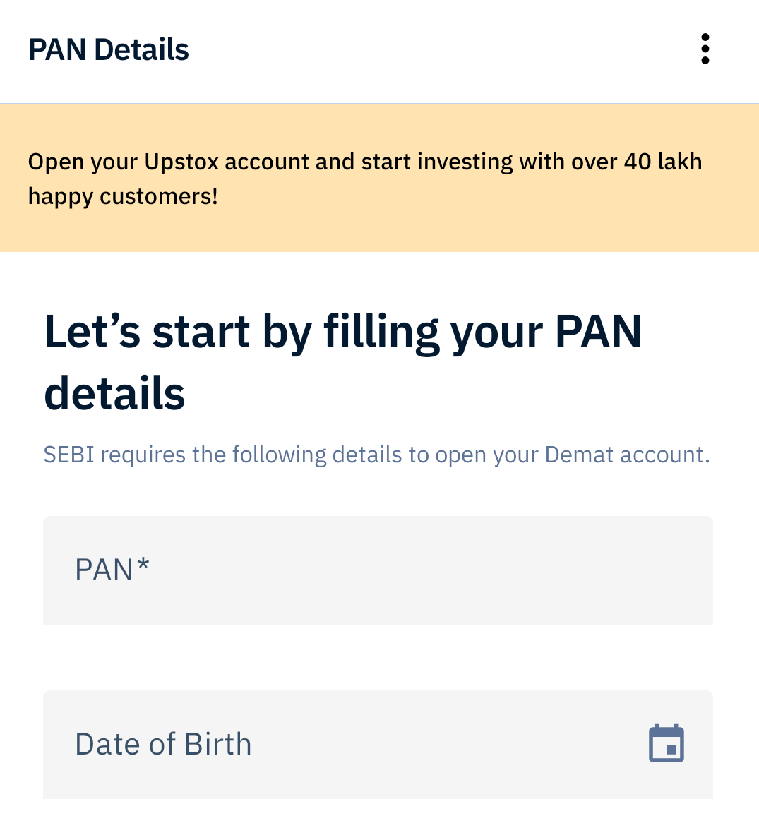 How to Sign Up on Stock