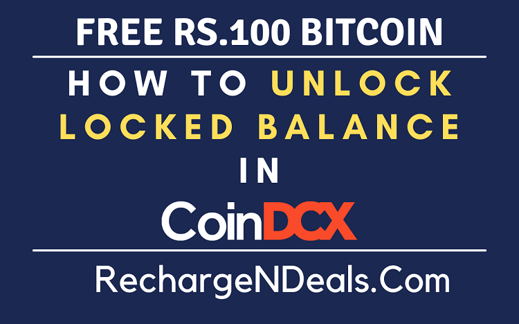 How to Unlock Locked Balance in CoinDCX
