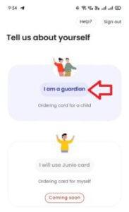 junio app guardian